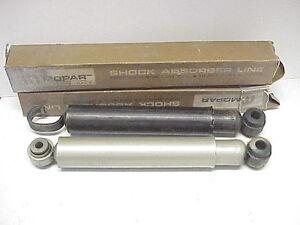 NOS-66-67-68-69-Dodge-Plymouth-Chrysler-Rear-Shocks-Mopar-Fury-300-Monaco