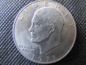 EISENHOWER-LIBERTY-E-PLURIBUS-UNUM-ONE-DOLLAR-COIN-1971-CIRCULATED