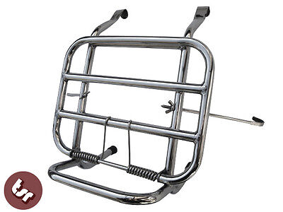 VESPA Stainless Steel Front Luggage Rack Carrier PX/VBB