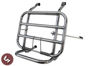 VESPA Stainless Steel Front Luggage Rack Carrier PX/VBB/LML/ET3