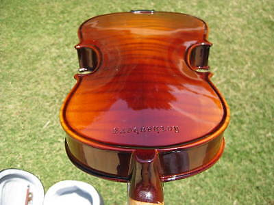 NEW FULL SIZE ADVANCED CONCERT FLAMED VIOLIN/FIDDLE-GERMAN on Rummage
