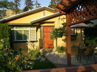 PENTICTON VACATION COTTAGE AVAILABLE BY THE WEEK OR MONTH