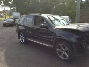 BMW X5 4.4 V8 COMPLETE CAR FOR WRECKING PARTS ONLY BMW X5 PARTS North Parramatta Parramatta Area Preview