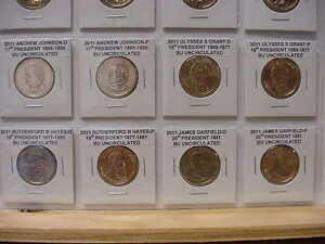 BUILD-YOUR-OWN-ALBUM-PRESIDENTIAL-DOLLARS-2011-ALL-8-COINS