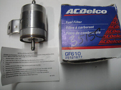 (SEE VIDEO) ACDelco GF610 Fuel Filter