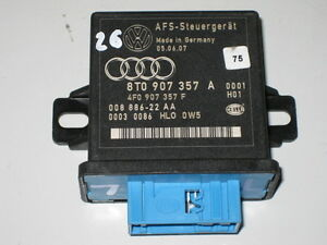 AUDI-A5-8T-A6-Q5-REGOLAZIONE-LUCI-CENTRALINA-AFS-LWR-8t0907357a-4f0907357f