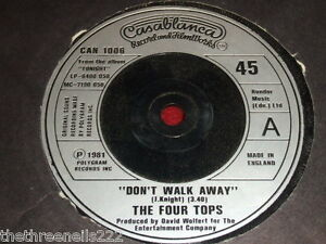 VINYL-7-SINGLE-THE-FOUR-TOPS-DONT-WALK-AWAY-CAN-1006