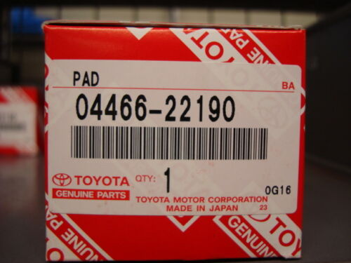 Rear Brake Pads IS250/IS220d/GS #3 models 04466-22190