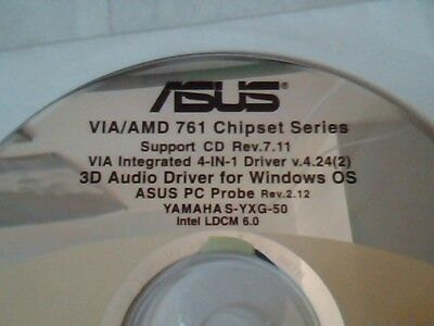 Driver Support Cd Asus Via Amd 761 Chipset Series Rev 7 11 M 166 Pc Probe  2 12