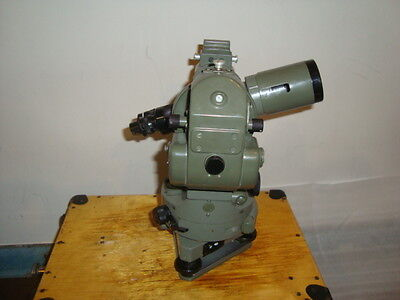 Vintage Optical Theodolite --1 Ussr Russia Transit Survey Level 1963