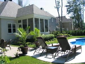 Fontainebleau $639,000. ou à louer meublée $3,250. /mois + hydro