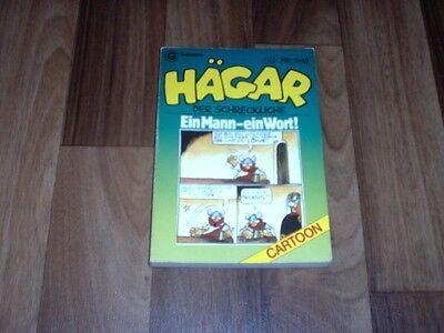 Dik Browne -- HÄGAR # 2 der SCHRECKLICHE / EIN MANN - EIN WORT / 1. Auflage 1984