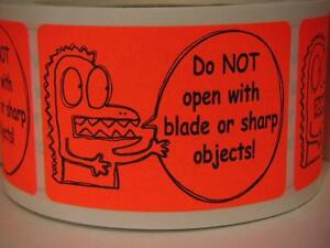 DO-NOT-OPEN-WITH-BLADE-OR-SHARP-OBJECTS-Sticker-Label
