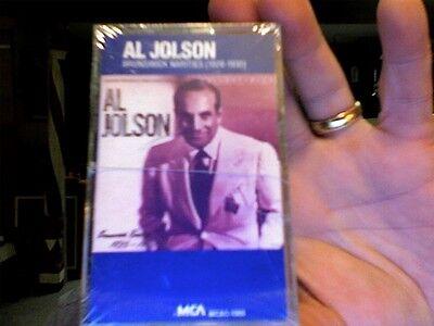 Al Jolson- Brunswick Rarities (1926-1930)- New/sealed Cassette Tape