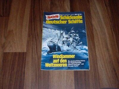 SOS  1 -  WINDJAMMER auf den WELTMEEREN/1975  aus der LANDSER-Redaktion online kaufen