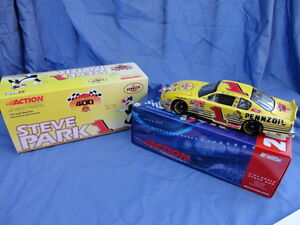 2001-Steve-Park-Pennzoil-1-24-Collectors-Die-Cast-MIB