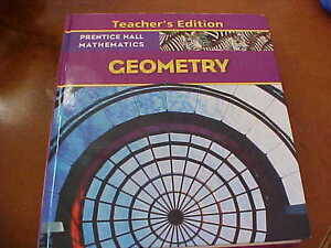 Prentice Hall GEOMETRY - TEACHER EDITION  **NEW**