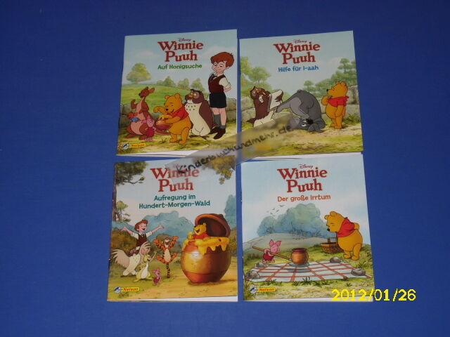 4 Bücher - Winnie Puuh Hundert-Morgen-Wald Nr 1 - 4