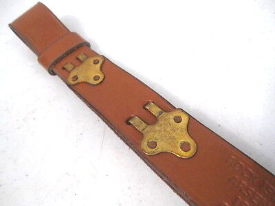 WWI US ARMY M1907 Leather Sling M1903 Springfield Marked RIA 1918 Repro