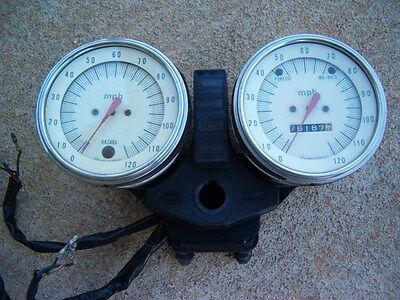 1978 Kawasaki KZ1000C1  Police Full Speedometer /Meters/ Gauges-Fits-C1-C1A