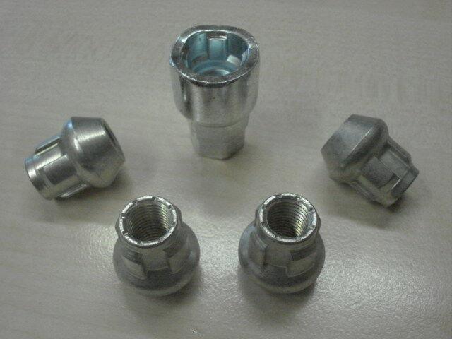 Felgenschloß Radsicherung Wheel Locks M12 x1,5  Kegelbundmuttern фото