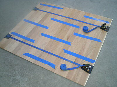 TWO - Hardwood Floor Installation Clamp Wood Flooring Instal