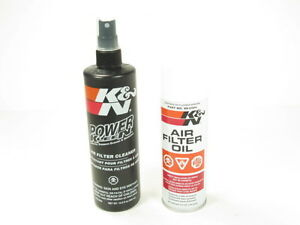 K-N-Recharger-Air-Intake-Filter-Cleaning-Kit-Cleaner-Spray-Oil-99-5000-NEW