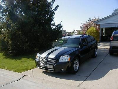 "All Year Dodge Magnum 10"" Twin Rally stripes Stripe Graphics SRT8 V6 V8"