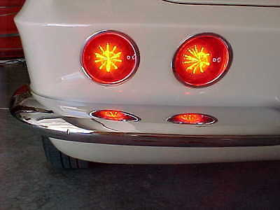CORVETTE 61 62 63 64 65 66 67 LED TAIL LIGHT ASSEMBLY BRIGHTER SAFER QUICKER++++