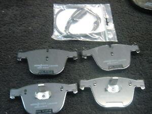 bmw 525 530 530d 535d 540 545 msport e60 e61 disc brake pads mintex sensors rear ebay. Black Bedroom Furniture Sets. Home Design Ideas