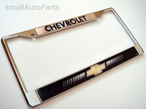 Chevy License Plate Frame Ebay