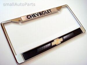 Chevy License Plate Frame Ebay