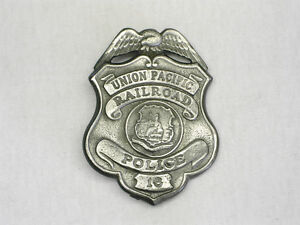 UNION-PACIFIC-RAILROAD-POLICE-Badges-OLD-WEST-Badge-PIN-BACK-FULL-SIZE