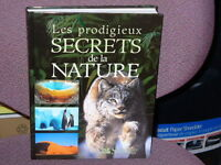 """Livre neuf """"Les Prodigieux secrets de la Nature"""""""
