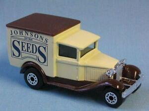 Matchbox Mb 38 Ford Model A Van Johnsons Seeds Toy Model