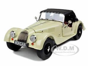 MORGAN 4/4 SPORTS CREAM 1/18 DIECAST MODEL CAR BY KYOSHO 08115