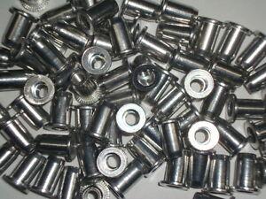 M4-Aluminium-Rivet-Nuts-Rivnuts-Nutserts-50-Pack