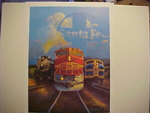 Railroad-Art-Winfield-Santa-Fe-Legacy-24X18-full-color-signed-by-artist