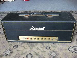 1974-Marshall-100-Watt-SUPER-LEAD-Mk-II-guitar-amplifier-head-vintage-EL-34