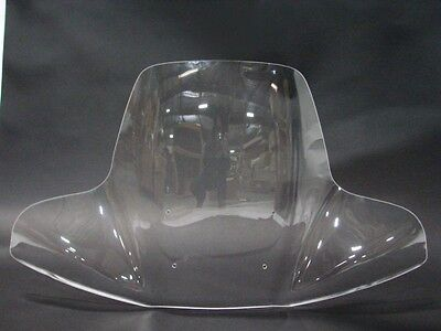 Touring Motorcycle Detachable Windshield For Yamaha Cruiser & Standard 1969-2012 on Sale