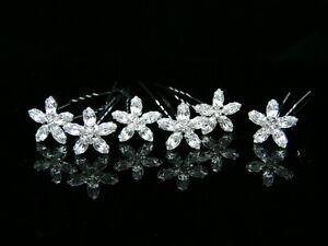6-Pcs-Bridal-Marquise-Crystal-Rhinestone-Wedding-Hair-Pins-2101