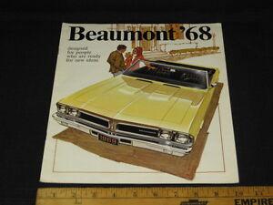 1968-Pontiac-BEAUMONT-Catalog-Sales-Brochure-CDN