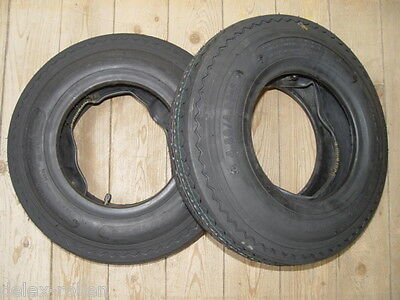 2 Satz Decke Reifen + Schlauch 4.80/4.00-8 KENDA Anhängerreifen DDR-HP Anhänger