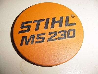 Stihl Chainsaw Ms230 Name Tag Model Plate ------------ Box854v