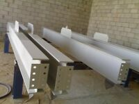 STRUCTURAL STEEL FOR BUILDERS: HEAVY STEEL STRUCTURES, RSJ, BEAM, BOX FRAME, GIRDER, UC, UB, PFC...
