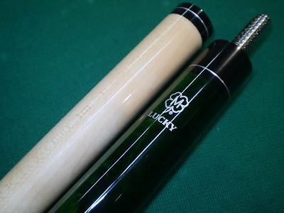 New Green McDermott Pool Cue + Free Soft Billiards Stick Case Free Shipping