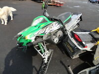 2010 ARCTIC CAT CROSSFIRE CFR 800 SNOWMOBILE PARTING OUT