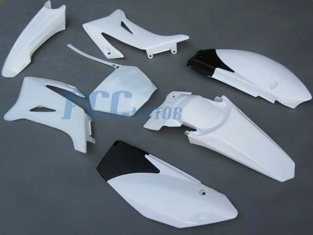 Yamaha Ttr110 Ttr 110 Plastic Fender Kit White H Ps40