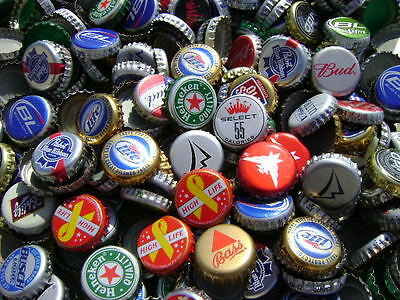 1000 Lot Mixed Assortment Beer Bottle Caps Crowns~ DENTS! Clean!!