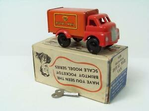 Wells Brimtoy (Pocketoy) #9/538 - Royal Mail Van - Red (Clockwork) - A+/A